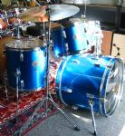 "STAGG TIM 20"" FUSION KIT METALLIC BLUE"